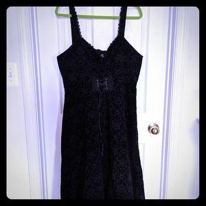 Torrid Nightmare Before Christmas corset dress